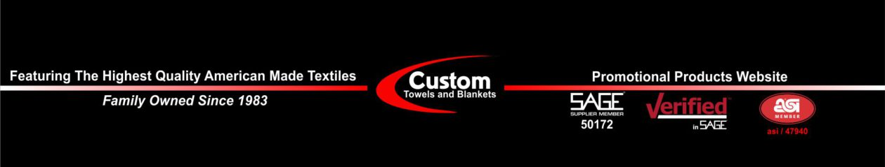 Custom Towels and Blankets